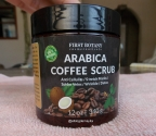 Arabica Coffe Scrub de First Botany